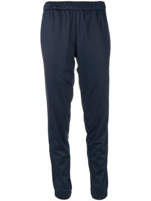 Спортивные брюки с полоской по бокам Astrid Andersen. Цвет: синий