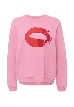 Свитшот Pinko. Цвет: розовый