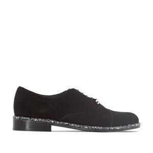 Ботинки-дерби кожаные Debis JONAK. Цвет: черный