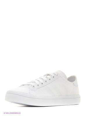 Кеды Court Vantage Shoes Adidas. Цвет: белый
