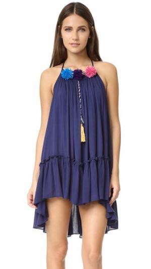 Платье Dali MISA. Цвет: голубой