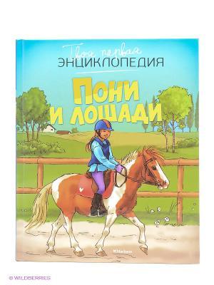 Пони и лошади Издательство Махаон. Цвет: белый