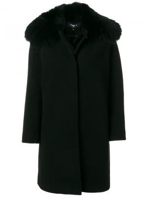 Пальто Paule Ka. Цвет: чёрный