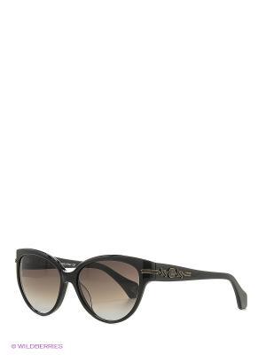Солнцезащитные очки VW 903S 01 Vivienne Westwood. Цвет: черный
