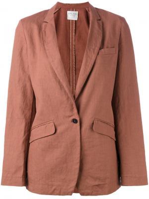 Блейзер с карманами Forte. Цвет: розовый и фиолетовый
