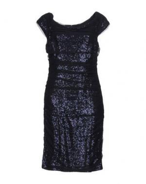 Короткое платье JOSEPH RIBKOFF. Цвет: темно-синий