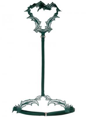 Бандаж Huntress Fleur Of England. Цвет: зелёный