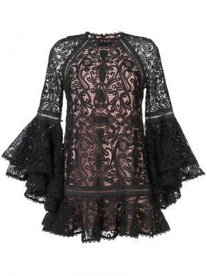 Платье Veronique Alexis. Цвет: чёрный
