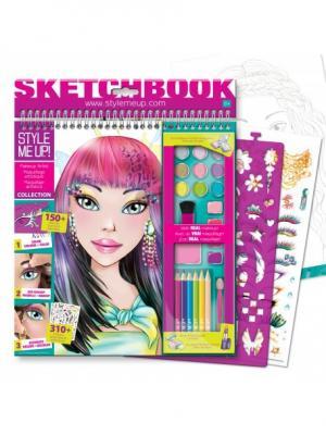 Набор для рисования STYLE ME UP. Цвет: фиолетовый, розовый