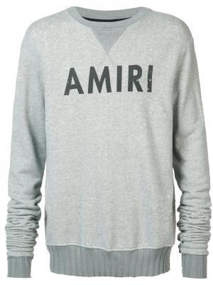 Elongated arms sweatshirt Amiri. Цвет: зелёный