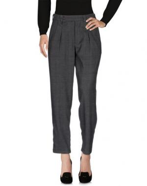 Повседневные брюки GANESH. Цвет: стальной серый