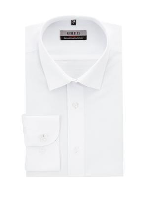 Рубашки GREG. Цвет: белый