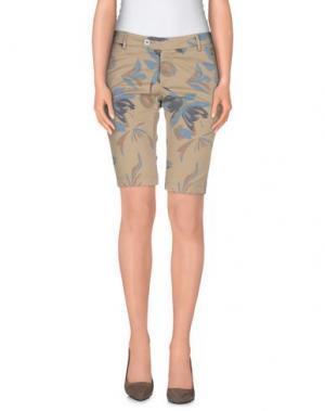 Повседневные брюки BONHEUR. Цвет: хаки