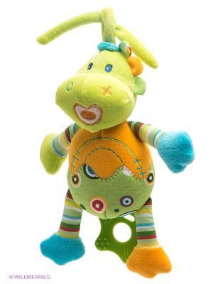 Развивающая игрушка Динозаврик Жирафики. Цвет: салатовый