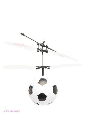 Мини Флаер Футбольный мяч От винта. Цвет: белый, черный