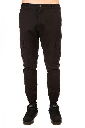 Штаны прямые  Cargo Black Anteater. Цвет: черный