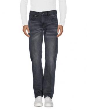 Джинсовые брюки CLUB MONACO. Цвет: серый