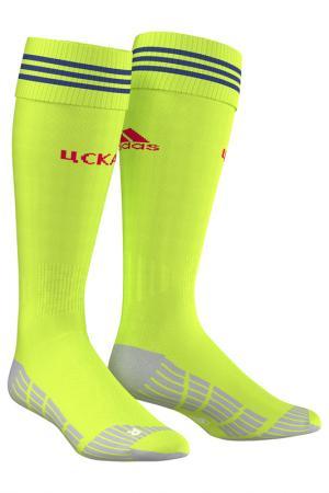 Носки adidas. Цвет: лимонный