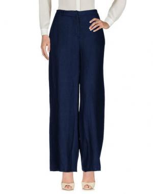 Повседневные брюки ROSSOPURO. Цвет: темно-синий