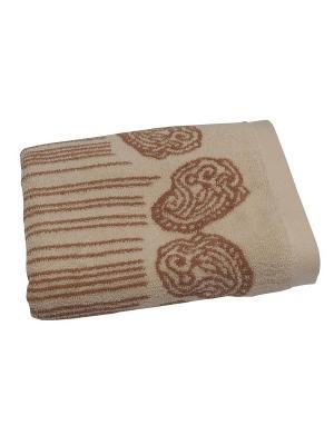 Комплект полотенец в подарочном пакете TOALLA. Цвет: бежевый