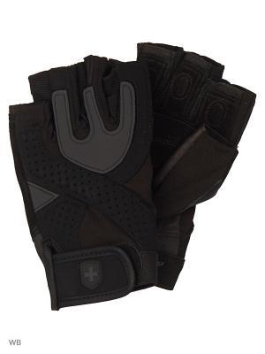 Перчатки HARBINGER. Цвет: черный, серый