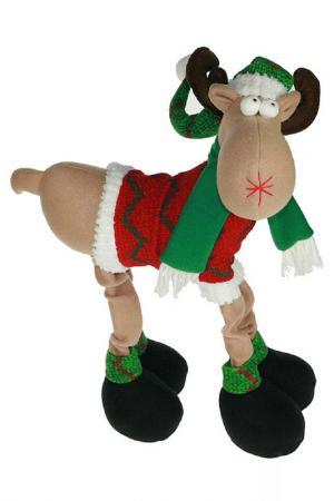 Новогодний сувенир Лосик Christmas. Цвет: мультицвет