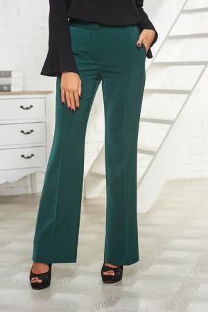 Расклешённые брюки Vittoria Vicci. Цвет: темно-зеленый