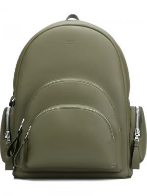 Рюкзак с несколькими карманами Valas. Цвет: зелёный