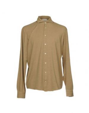 Pубашка GRAN SASSO. Цвет: верблюжий