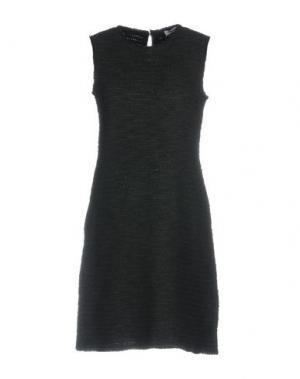 Короткое платье BASE. Цвет: свинцово-серый