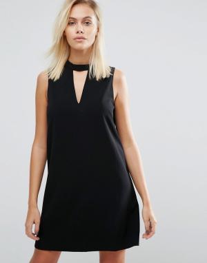 Greylin Цельнокройное платье Dawnson. Цвет: черный