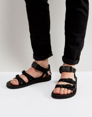 Teva Парусиновые сандалии с ремешками Alp. Цвет: черный