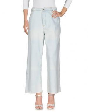 Джинсовые брюки AMERICAN VINTAGE. Цвет: синий