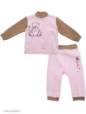 Комплект Лео. Цвет: розовый, коричневый