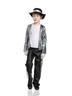 Костюм Майкла Джексона La Mascarade. Цвет: черный, белый, серебристый