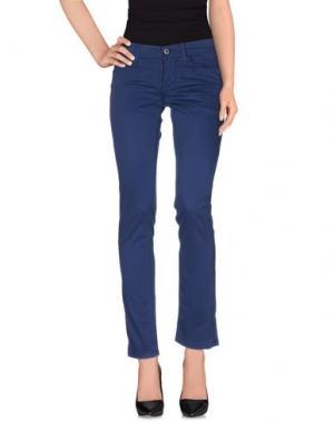 Повседневные брюки MELTIN POT. Цвет: грифельно-синий
