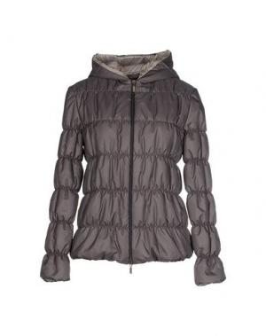 Куртка +MINI. Цвет: серый