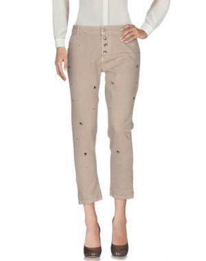 Повседневные брюки J-CUBE. Цвет: бежевый