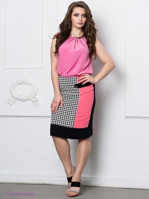 Юбка Alkis. Цвет: черный, розовый, белый