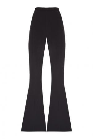 Черные расклешенные брюки Antonio Berardi. Цвет: черный