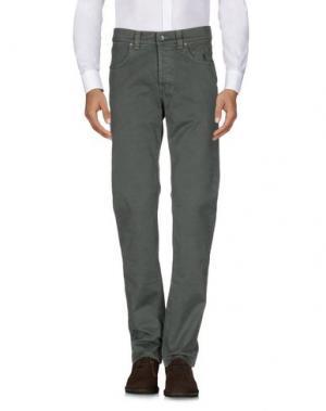 Повседневные брюки JECKERSON. Цвет: зеленый-милитари