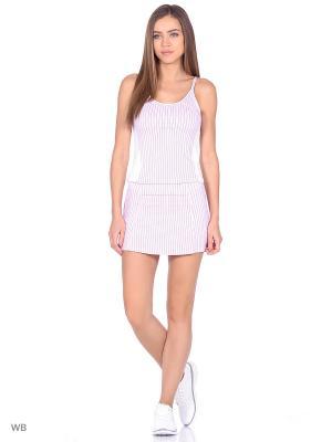 Спортивный костюм для тенниса Bars. Цвет: розовый