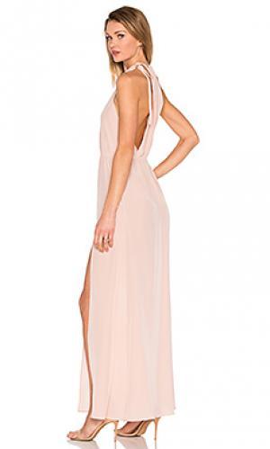 Вечернее платье onyx STONE_COLD_FOX. Цвет: румянец