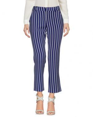 Повседневные брюки WEILI ZHENG. Цвет: ярко-синий