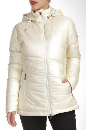Куртка YETI. Цвет: белый