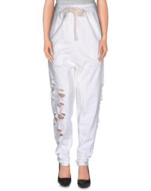 Повседневные брюки X CONCEPT. Цвет: белый