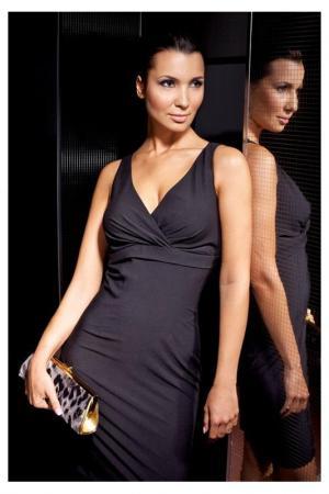 Платье Quattro. Цвет: черный