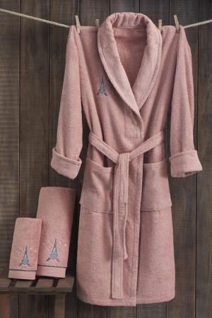 Набор для ванной Marie claire. Цвет: розовый