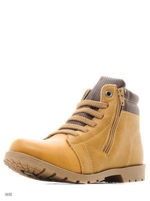 Ботинки Bibi. Цвет: бежевый