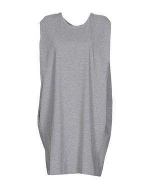Платье до колена MA'RY'YA. Цвет: серый